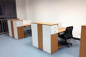 <b>双人对面桌带侧柜S12</b>