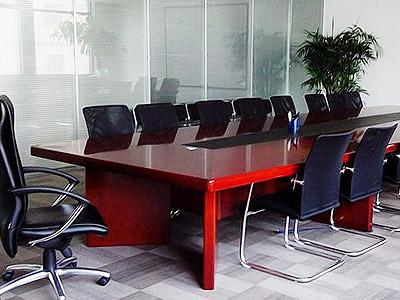 青岛中海大厦会议桌案例