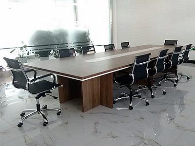 青岛办公家具,青大工业园会议桌