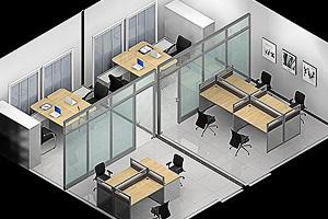 小办公室办公家具如何设计?