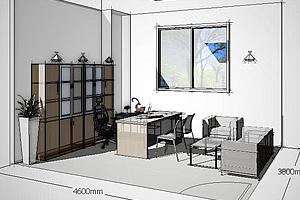 办公家具设计效果图使用什么软件?