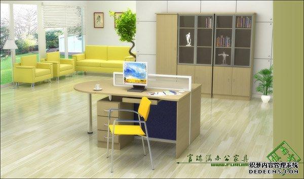 青岛办公隔断,双人桌