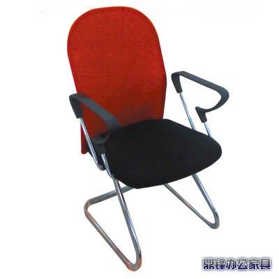 青岛办公就 职员椅 会议椅 电脑椅 红背网弓