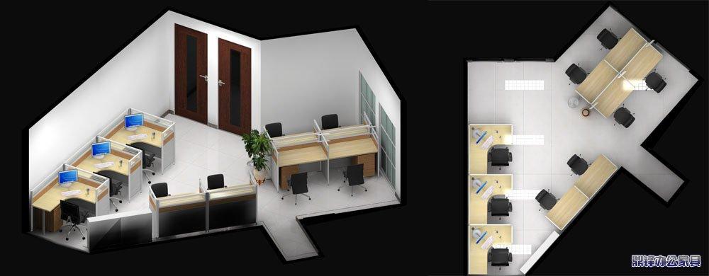 金都花园a座户型设计_青岛办公家具,青岛办公隔断,鼎