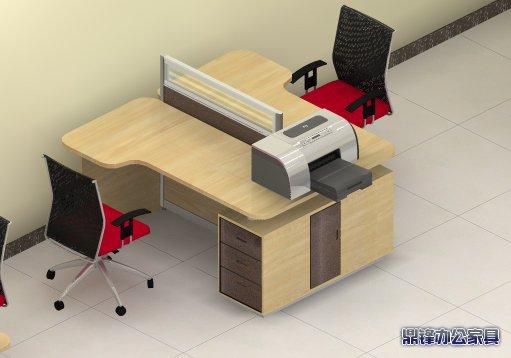 办公桌效果图