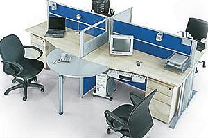如何设计办公室工作卡位(办公隔断)