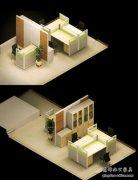 小办公室效果图如何设计?