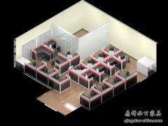办公家具效果图之颜色搭配