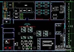 市南软件园5号楼4层设计方案