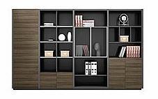 办公室书柜的各种组合形式