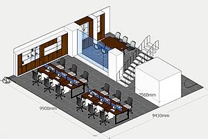 如何快速高效的设计出客户的办公家具配套方案?